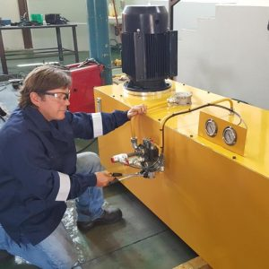 Hydraulic Testing Benches