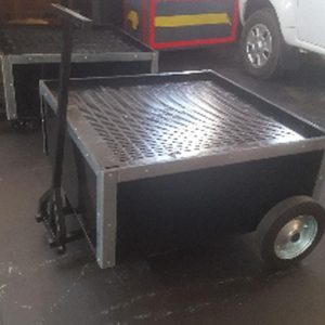 Used Oil Trolley